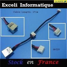 Conector dc entrada de conexión jack alambre cable packard bell easynote tm85 fr