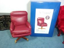THE GERALD FORD DESK CHAIR- THE PRESIDENTIAL COLLECTION -  DOLL HOUSE  MINIATURE