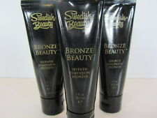3 PACK - BRONZE BEAUTY 1 OZ. TUBE SAMPLE of TANNING LOTION by SWEDISH BEAUTY