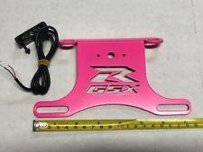 SUZUKI GSXR GSX-R 600 750 FENDER ELIMINATOR TAIL TIDY   PINK     P/L 2006 - 2010
