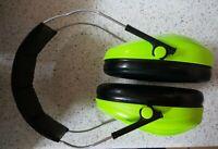 3M Peltor Kids Ear Defenders Ear Muffs Childrens Hearing Protection Neon Green