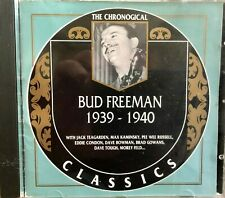 1939-1940 by Bud Freeman (CD, Made in France 1995, Classics)