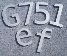 3D Buchstaben Einzelbuchstaben Aluminium 2,5 mm tief Metallbuchstaben