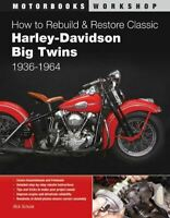 How To Restore & Rebuild Knucklehead & Panhead Harley Davidson Motorcycle Book