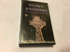 BLACK SABBATH HEADLESS CROSS ALBUM TONY MARTIN CASSETTE RARE IRS RECORDS
