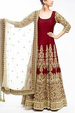 Indian Bollywood Ethnic Designer Anarkali Salwar Kameez Suit &Traditional SP0021