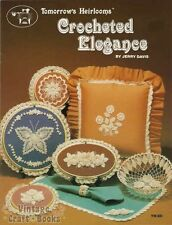 Crocheted Elegance Jerry Davis Crochet Pattern Book Flowers Basket Butterfly NEW