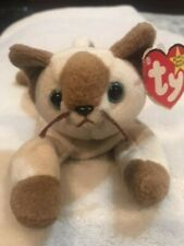 *RARE* Ty Beanie Babies Collection Snip Siamese Cat Retired Errors 1996 Retired