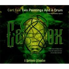 Carl Cox two dipinti d'azione and a Drum (1996) [Maxi-CD]