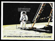 Togo #1550 MNH S/S 20th Anniv of Moon Landing/Astronaut