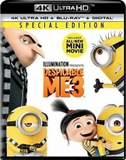 DESPICABLE ME 3 4K UHD + Blu-ray + FREE SHIPPING #Animation #DespicableMe #SciFi