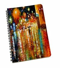 Abstract Multi-Color Spiral Notebook Cute Notebook Paper A5 Sheets Diary Notepad