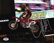 Jeremy McGrath Signed 8x10 Photo PSA/DNA COA Motocross Supercross Picture Auto'd