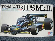 TAMIYA 1/12 TEAM LOTUS BIG SCALE SERIES J.P.S.LOTUS 78 Mk.Ⅲ BUILD STARTED