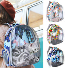 Cat Carrier for Cats Pet Travel Space Capsule Backpack Carrier Bag Waterproof
