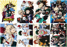 My Boku no hero academia Polypropylene A3 8 pieces Posters wall poster PPP002