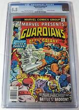 Marvel Presents 8 CGC 5.5 1976 Guardians Of The Galaxy GOTG Marvel Movie 1st