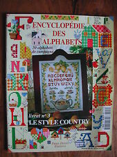 Encyclopédie des alphabets n°3 - Le Style Country