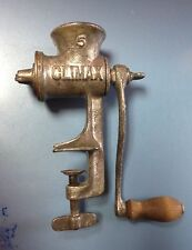 Vintage Climax #5 Food Grinder By L. F. & C. New Britain Conn. Small Table Top