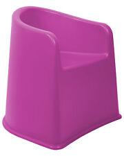 Kinderstuhl mit Armlehne Armlehnenstuhl Stuhl Kindersitz sicherer Stand fuchsia