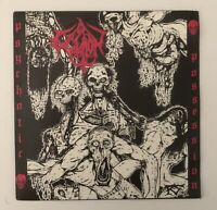 "EXCAVATION Psychotic Possession 90's Death Metal France 7"" Vinyl NEW OLD STOCK"