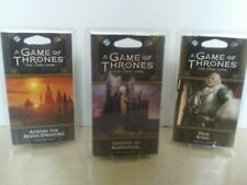 3 Packs A GAME OF THRONES the card game  Second Edition  *NEW*