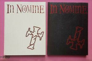 IN NOMINE - SET OF TWO LIMITED EDITION CORE BOOKS RPG ROLEPLAYING ANGELS DEMONS