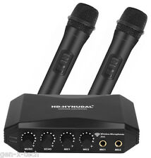 HD-Hynudal HDMI Karaoke Mixer: Two Wireless Mics: YAMAHA Chipset, Supports Phone