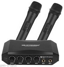 HD-Hynudal HDMI Karaoke Mixer: Two Wireless Mics: YAMAHA Chipset, Supports Phone