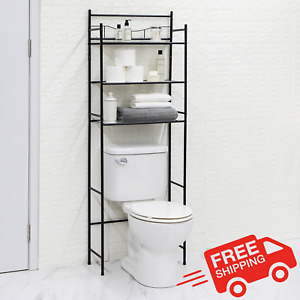 Mainstays 3-Shelf Bathroom over the Toilet Space Saver Organizer with Liner