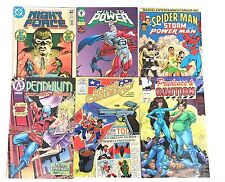 Vintage Comics First Issues Lot Of 6