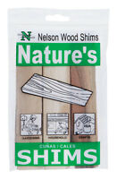 Nelson  1.5 in. W Wood  Shim  9 pk