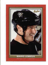 MARIO LEMIEUX 2005/06 05/06 UD UPPER DECK BEEHIVE #71 RED PARALLEL SP AC767