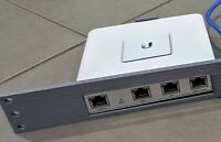 "Ubiquiti UniFi rackmount bracket for USG 19"" 1U rack"