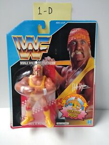 WWF Hasbro 1990 HULK HOGAN w/ Hulkster Hug MOC Vintage AFA Ready (1-D)