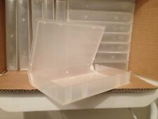 15 EMPTY Clear VHS Video Tape Cases ideal for storage etc
