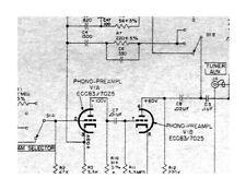 Stromberg-Carlson ASP-80 Dual Channel Tube Amplifier Schematic Diagram parts pdf