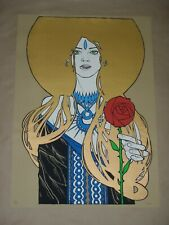 Terra Malleus signed numbered art print poster edition of only 46!