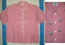Country Line Damen-Trachtenblusen aus Baumwolle mit Kurzarm