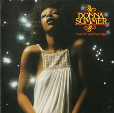 Donna Summer - Love To Love You Baby     new cd