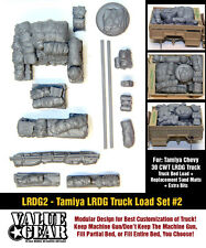 1/35 Scale LRDG Truck Load (Tamiya Chevrolet 30cwt) #2 WW2 vehicle stowage set