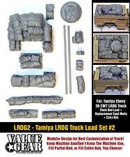 1/35 échelle LRDG camion charge (TAMIYA CHEVROLET 30CWT) # 2 la seconde guerre mondiale véhicule arrimage set