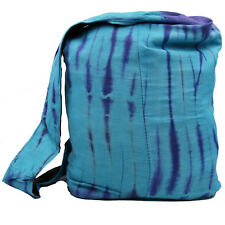 Bag Batik Pouch Shoulder Bag Goa Hippie Psy Tie Dye Blue 12