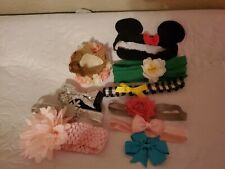 Baby girl hair accessories lot