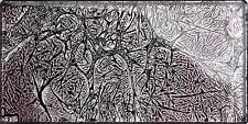 1 SQ M Mosaic Metro Wall Tiles Grey Foil Glass Bathroom Shower Kitchen 0117