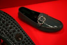 719.00 !! GUCCI ICONIC WOMEN LIGHT BLUE PATENT LEATHER LOAFERS MARKED SIZE 39 G