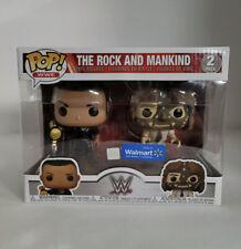 Funko Pop! Wwe - The Rock Vs Mankind - 2 Pack - Walmart Exclusive!