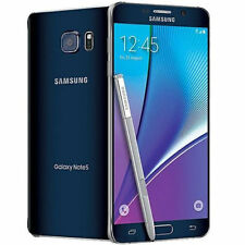 Samsung Galaxy NOTE 5 SM-N920 - 32GB - Black Sapphire Sprint , Ting Mobile