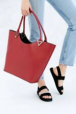 Bing Bang X Urban Outfitters Triangle Leather Tote Bag New MSRP: $300
