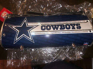 NFL DALLAS COWBOYS Tin Can Purse Littlearth Family Of Brands NEVER USED